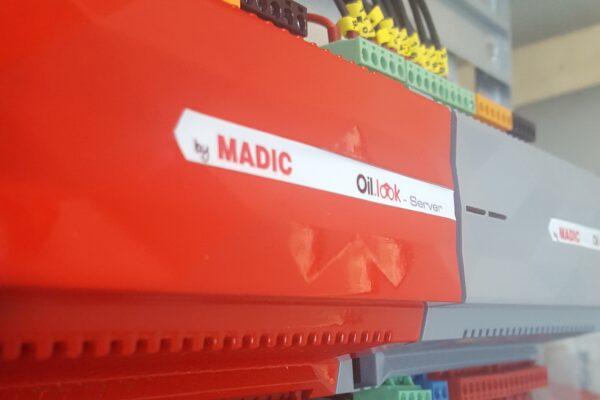 Madic Oil look, sistema de control inmótico